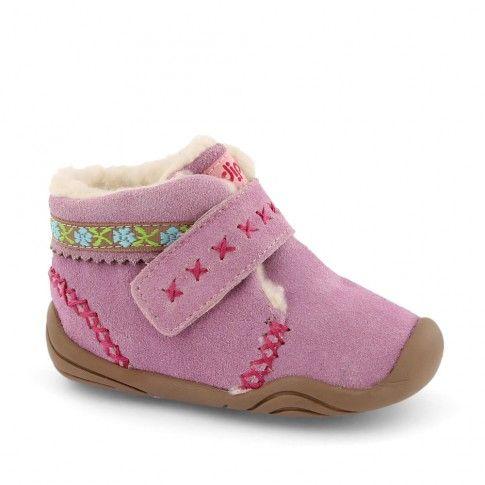 Grip n Go Rosa Astor Pink | incaltaminte bebelusi #pediped | incaltaminte imblanita bebelusi | incaltaminte confortabila pentru copii de la 0-2 ani