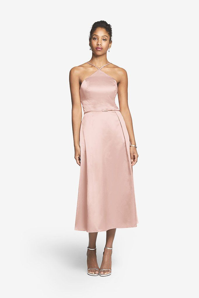Mejores 9 imágenes de Satin Bridesmaid Dresses en Pinterest | Damas ...