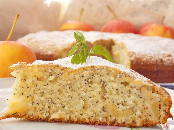 Яблочный пирог с маком. Пошаговый рецепт с фото - Ботаничка.ru
