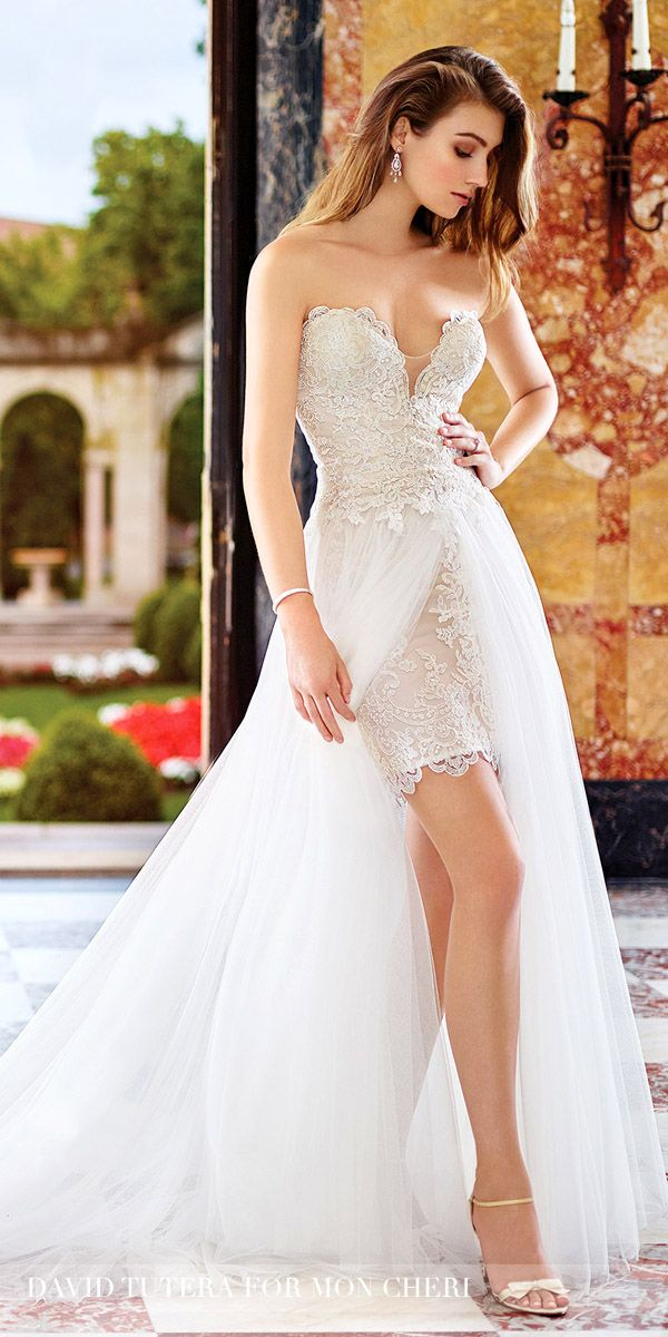 Short wedding dresses a collection of ideas to try about for David bridal wedding dresses 2017