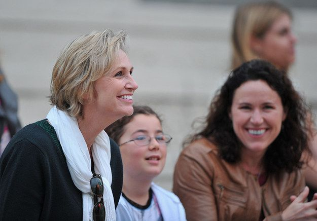 Jane Lynch and Lara Embry | The 10 Most Famous Gay Parents And Their Families