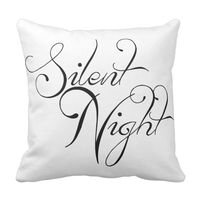 Check out my product, it's on sale! ZCUSTOMGIFTS SILENT NIGHT PILLOW