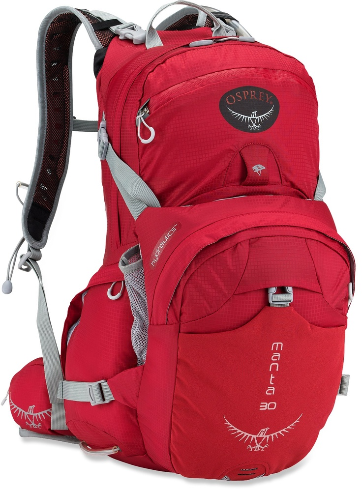 Osprey Manta 30 Hydration Pack - 100 fl. oz. Ideal for long distance hikes.  Enough space for the essentials, no need for more. Good support too!