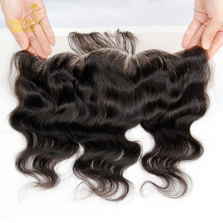 Lace Frontal Closure Brazilian Virgin Hair Body Wave Closure Ear to Ear 13X4  Size Brazilian Human Hair Full Lace Front Closures