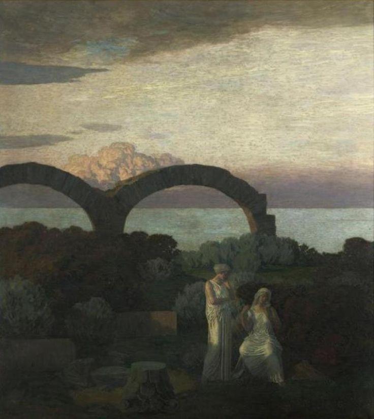 Réne Ménard - Rêve antique (partie gauche)