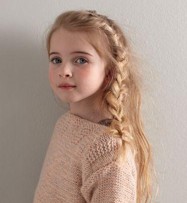Modèle pull tube col amovible - Modèles tricot enfant - Phildar