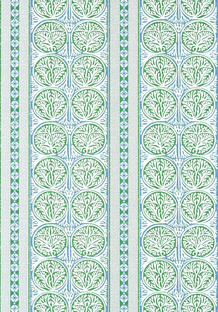 FAIR ISLE, Green and Blue, T88732, Collection Trade Routes from ...
