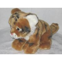 brown tiger plush soft toy 20cm, http://www.sammler-und-hobbyshop.eu/brown-tiger-plush-soft-toy-20cm