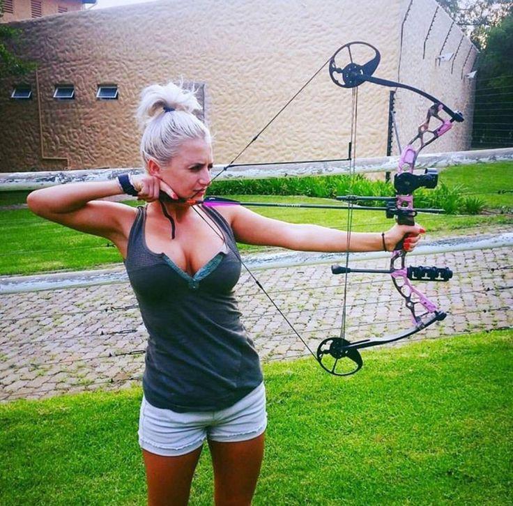 Archery boob girl