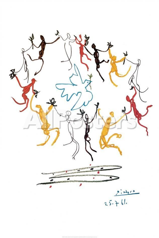 The Dance Of Youth Print by Pablo Picasso - at AllPosters.com.au
