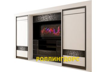 Шкаф со встроенным телевизором! на заказ и по Вашим размером от лидера среди мебельных дизайнов - РОЛЛИНГДОРС!