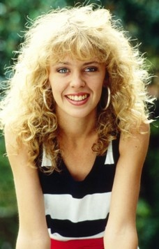 Australian Birthday Today -  28 May - Kylie Minogue. Australian Famous TV & Music Artist best know from Neighbours. read more click photo and **please share.
