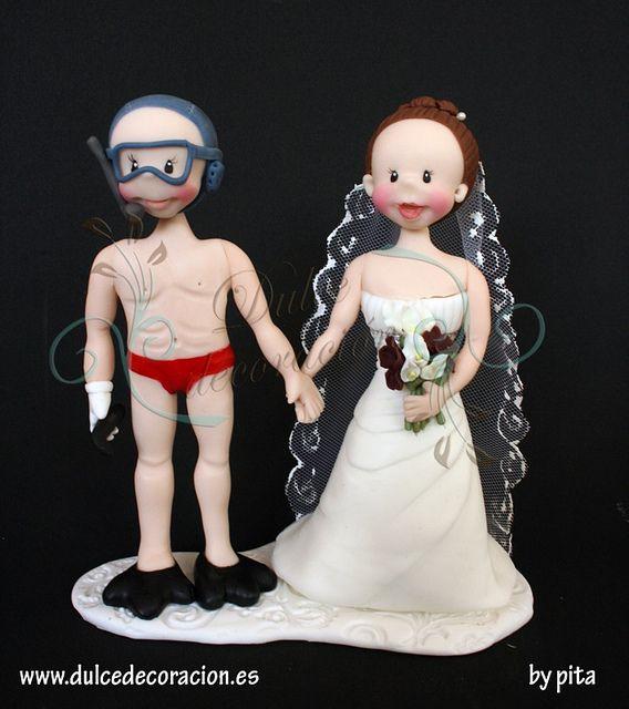 All sizes | Figuras de tarta de boda personalizada Ainara | Flickr - Photo Sharing!