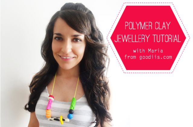 Make your own polymer clay jewellery with this easy tutorial. http://crafthunter.com.au/2014/01/21/how-to-make-polymer-clay-jewellery/. www.goodiis.com
