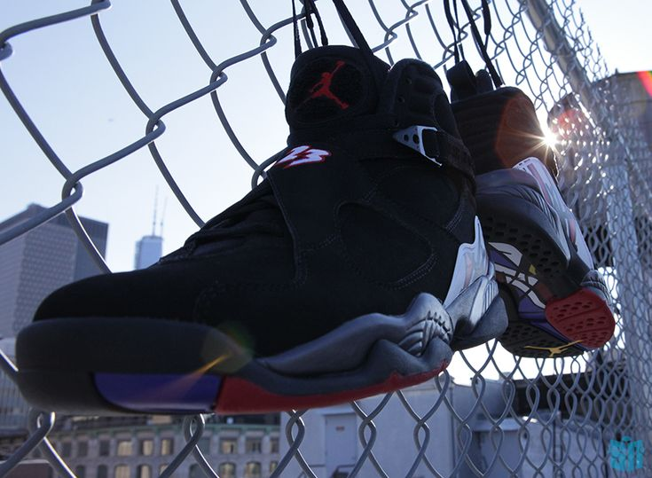 """The wait is almost over: Air Jordan VIII """"Playoffs"""" dropping on select JB retailers on the 29th."""