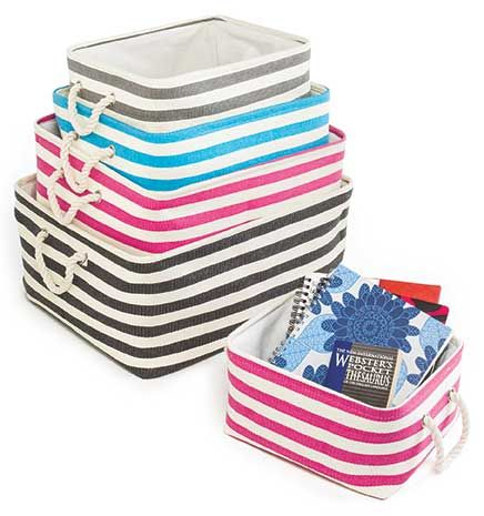 Soft Storage Bins from Tuesday Morning | Organize it ...