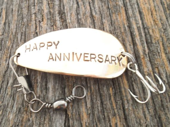 9th Wedding Anniversary Gift For Husband : Anniversary Fishing Lures for Husband 9th Wedding Anniversary Gift ...