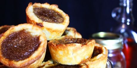 Brown Butter Tarts with Maple and Nutmeg