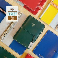 本子事多出品 2017全新Forest森林款 A6A7活页创意 手帐 记事本