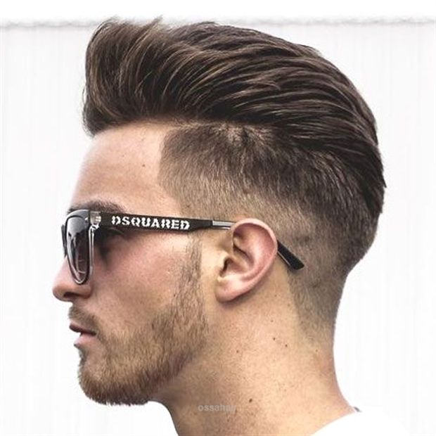 Cool Thick Brushed Back Hair Low Taper Fade The Post Thick Brushed Back Hair Low Taper Fad Cool Hairstyles For Men Mens Hairstyles 2018 Haircuts For Men