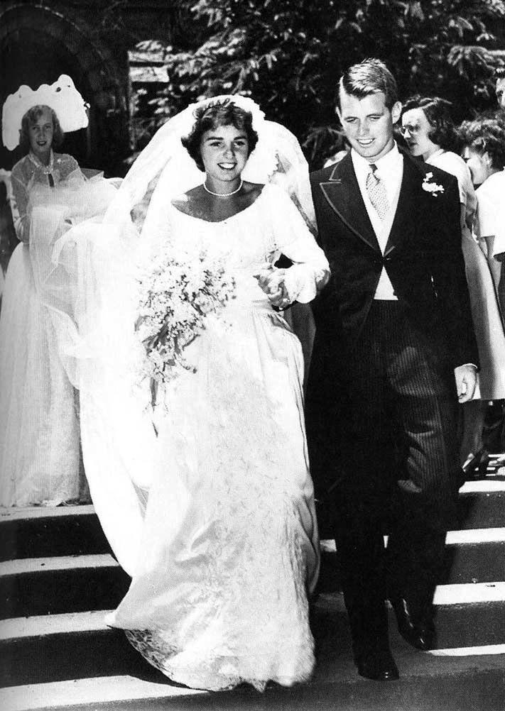 On June 17, 1950, Robert Kennedy married Ethel Skakel.