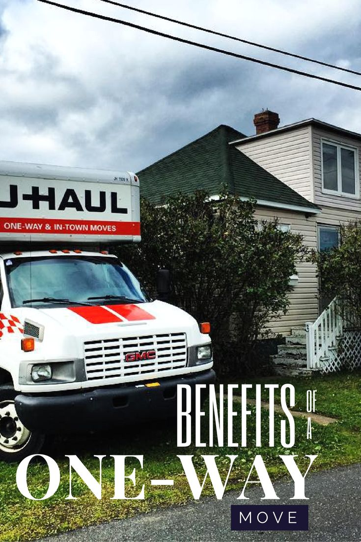 Benefits of a one way moving truck rental