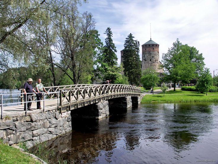 Olavinlinna Castle. Savonlinna. Finland