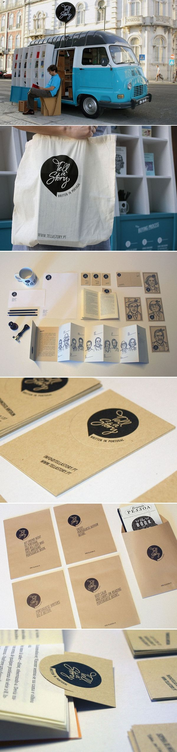 tell a story: the traveling book store by MSTF partners