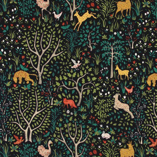 DwellStudio Folkland Fabric - Admiral | DwellStudio