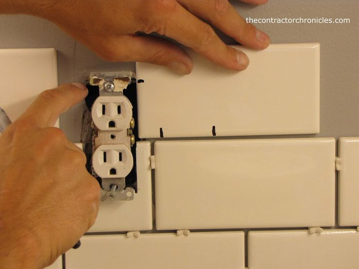 How to Cut Tile for an Outlet - The Contractor Chronicles