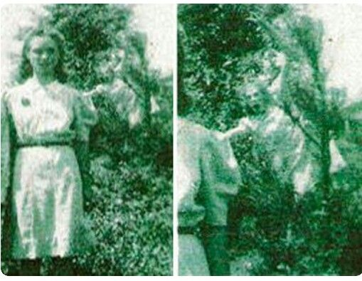The wedding day ghost photo taken in 1942 in Jasper Alabama the picture was…