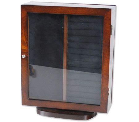 Great for small spaces- Rotating Jewellery Cabinet with glass doors.  $39.95