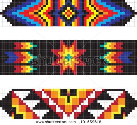 Free Native American Beadwork Designs | Native American Beadwork | Pinterest    /So pretty EL./