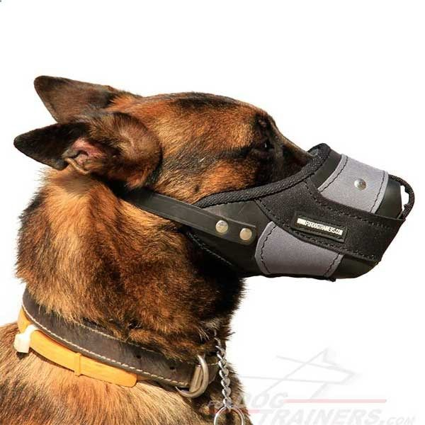 Dog Muzzle - Pro Agitation Training #Dog #Muzzle - $69.00 | www.fordogtrainer...