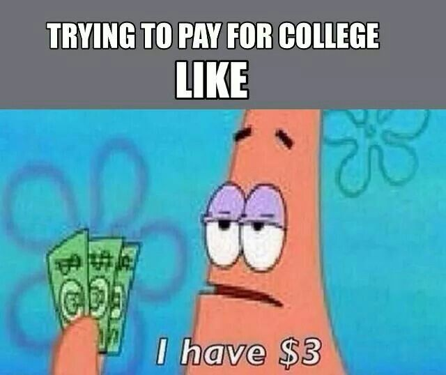 That's the only reason I'm glad college is over..i hated being dirt poor lol