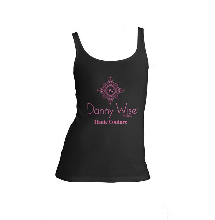 DANNY WISE Tank -Canottiera  Original  : Model ispired to Palermo City Unisex  Classic   100% Cotton  Black Logo Pink geranium ,        stamped by Hand in Italy.     size  S-M-L-XL only in official Boutiques- Stores- Megastores  Danny Wise only in official Boutiques- Stores- Megastores  Danny Wise.