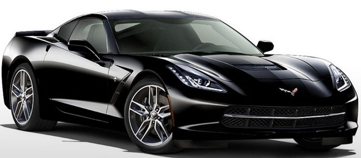 black 2014 Stingray corvette - saw this beauty today. I was pretty much drooling...
