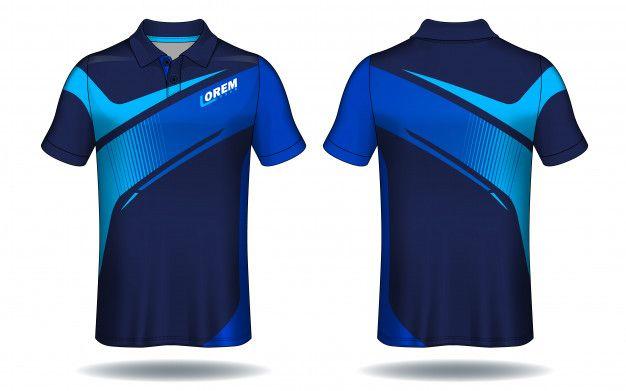 Download T Shirt Polo Design Sport Jersey Template Polo Design Sports Tshirt Designs Sport Shirt Design
