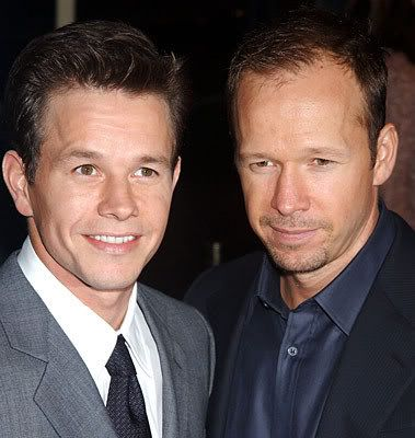 Donnie and Mark Wahlberg double damn!