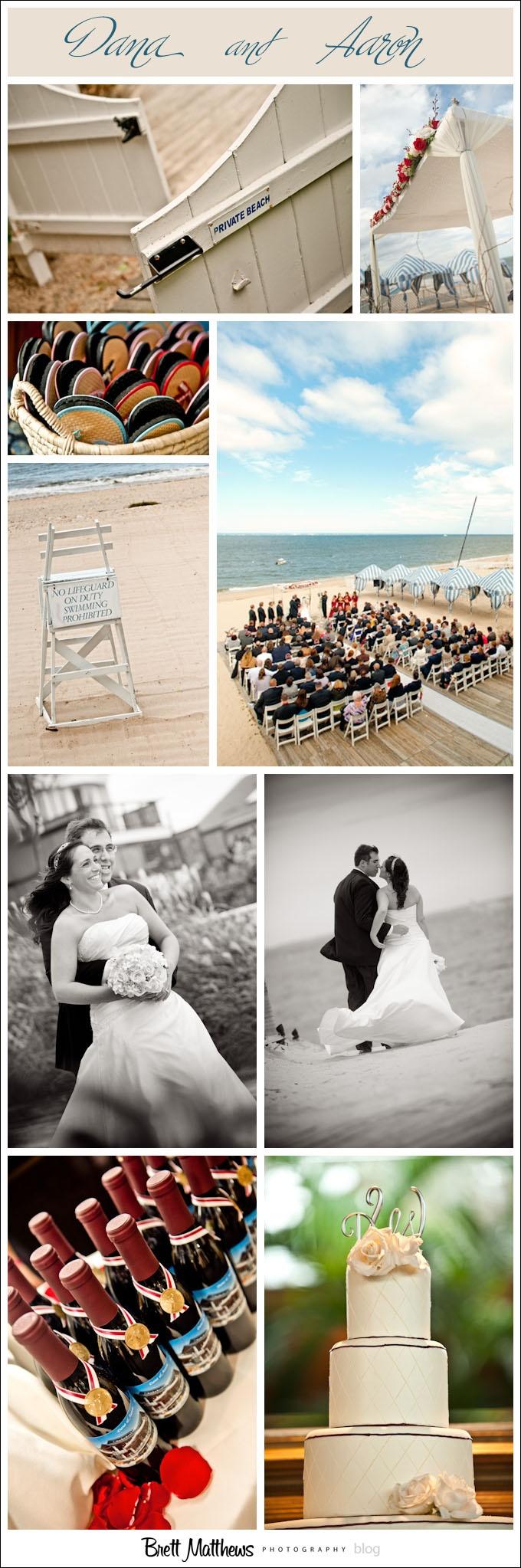 Crescent Beach Club Wedding Photos Of Dana And Steve