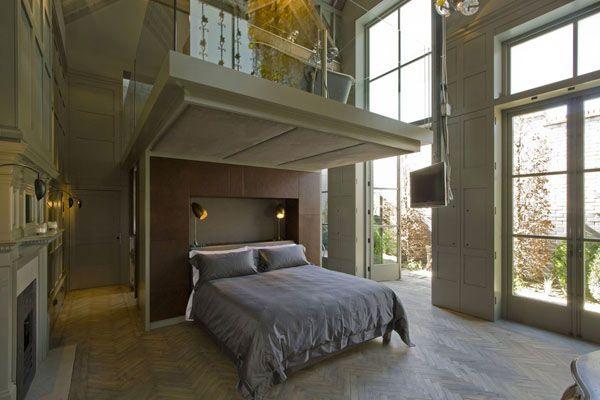 Luxurious Square Room Design