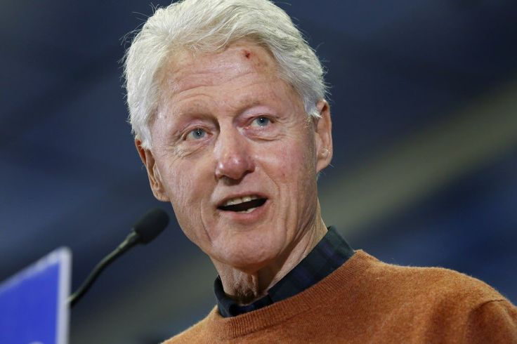 117 Pounds Bill Clinton Suffers from Cancer? #BillClinton, #Cancer, #Elections, #Health, #HillaryClinton, #Illness, #Stress, #Weight