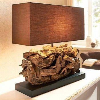 phantasievolle inspiration tischleuchte holz eben pic und acaeccbff wood decorations home lighting