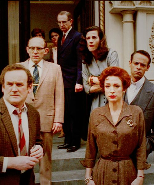 "Still from DS9 two-part episode ""Far Beyond The Stars"": Colm Meaney (O'Brien), Armin Shimerman (Quark), Rene Auberjonois (Odo), Terry Farrell (Jadzia Dax), Nana Visitor (Kira) and Alexander Siddig (Bashir)."