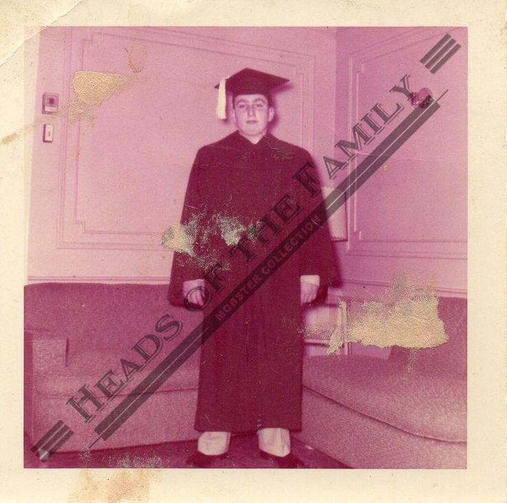 Roy DeMeo graduation pic.