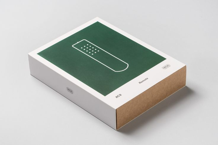 Package design by Oslo based Neue for Norwegian hi-fi company Hegel