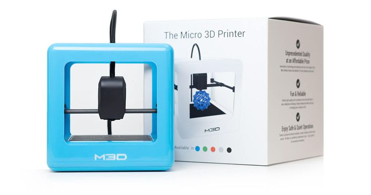 The Micro 3D Printer is the ultra-affordable, Next Generation 3D Printer. Accessible to everyone, the Micro is ideal for artists, engineers, and students alike.