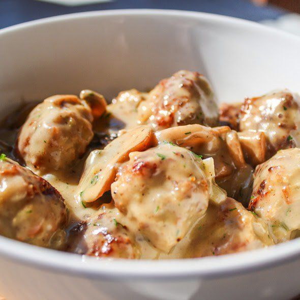 Meatballs are a perfect appetizer at parties, easily complemented by sweet and sour sauce or ketchup thanks to its slightly crisp, savory richness of baked | Panlasang Pinoy Recipes