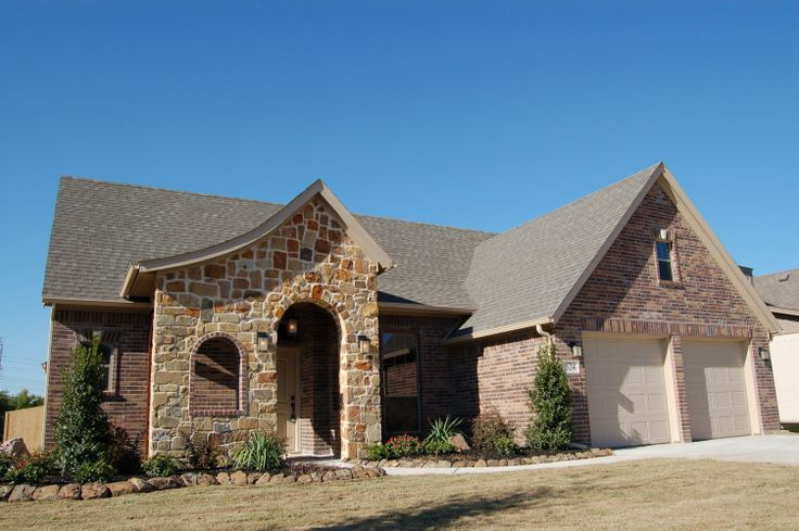Front Elevation Stone : Best images about mcbee homes exterior desgins on