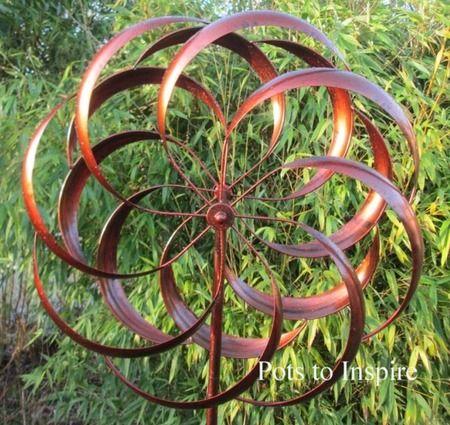 Attractive Jonart Wind Spinner Metal Granchester Garden Bronze Sculpture | Woodside  Garden Centre | Pots To Inspire